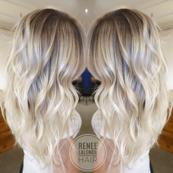 Trendy Hairstyles Ideas Platinum Blonde Balayage Long Hair
