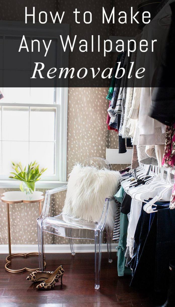 diy home decor ideas how to make any wallpaper removable