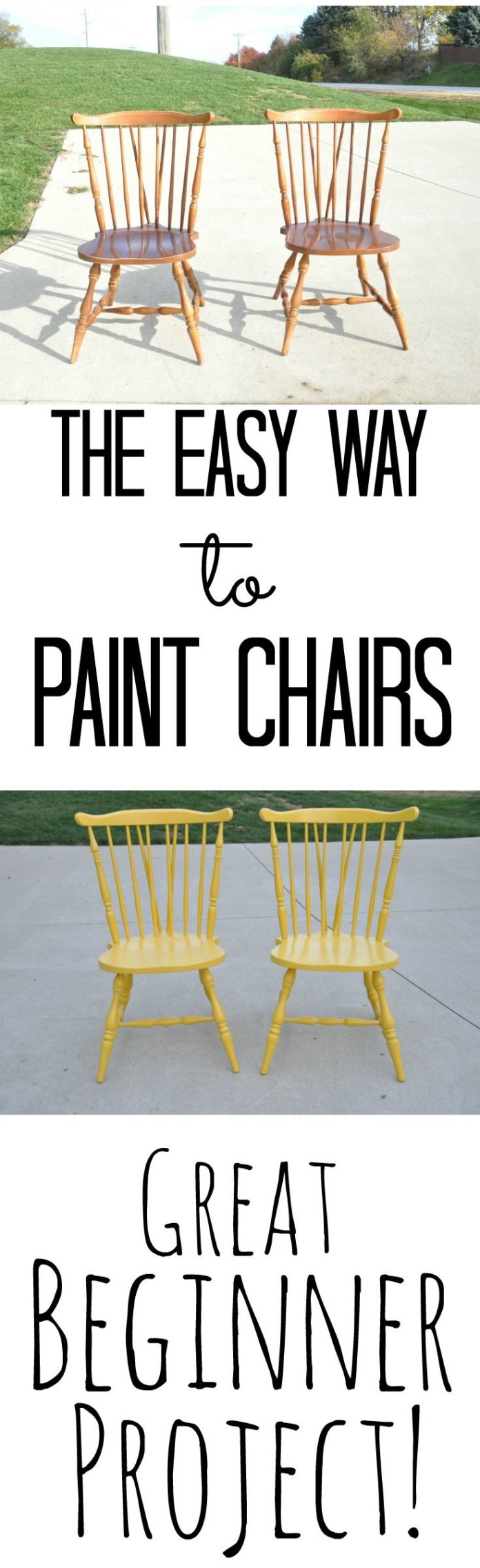 diy home decor ideas the easy way to paint chairs great