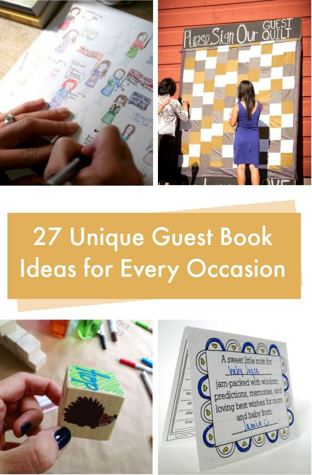 Best ideas diy and crafts inspiration unique guest book for Best craft books 2017