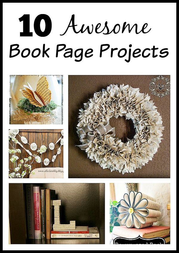 diy home decor book diy home decor ideas you ll these book page projects 10728