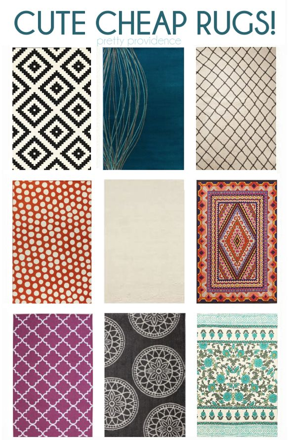 Diy home decor ideas cheap cute modern rugs most under for Cheap household accessories