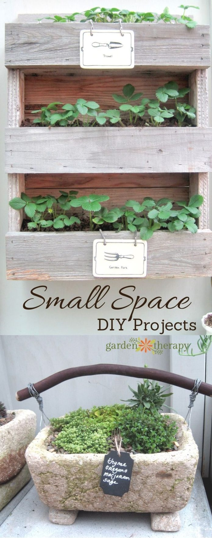Best ideas diy and crafts inspiration small space garden for Inspirational small garden ideas
