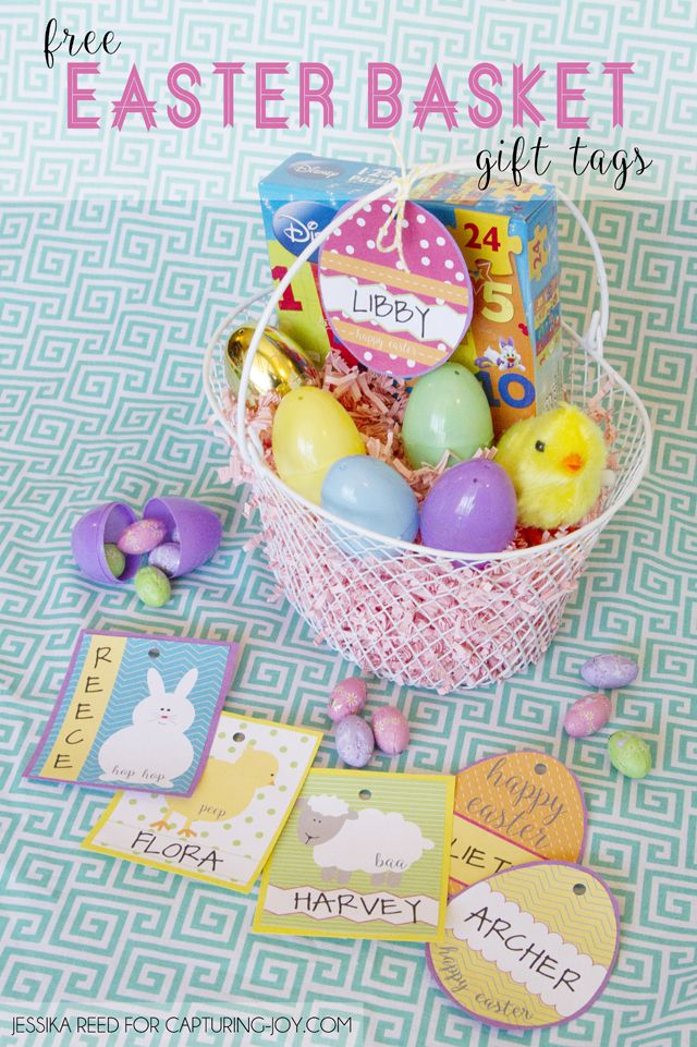 Best ideas diy and crafts inspiration free easter basket gift tag printables hip simple - Easy diy home decorating ideas ...