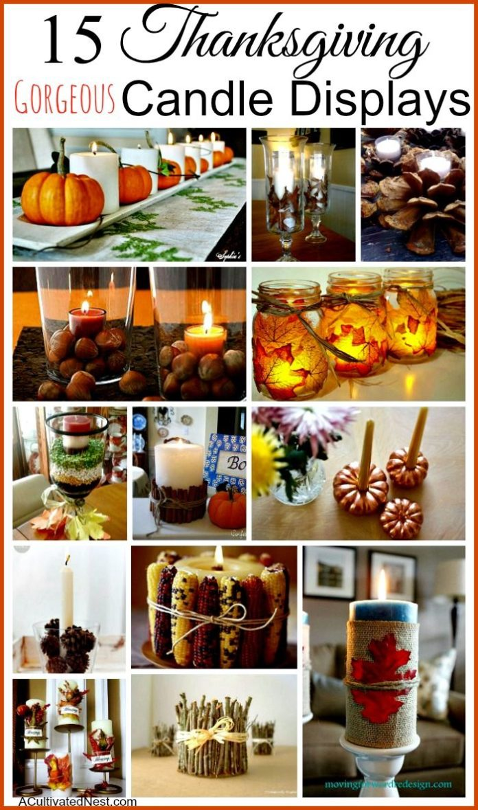 Diy Home Decor Ideas Make Your Thanksgiving Table Or