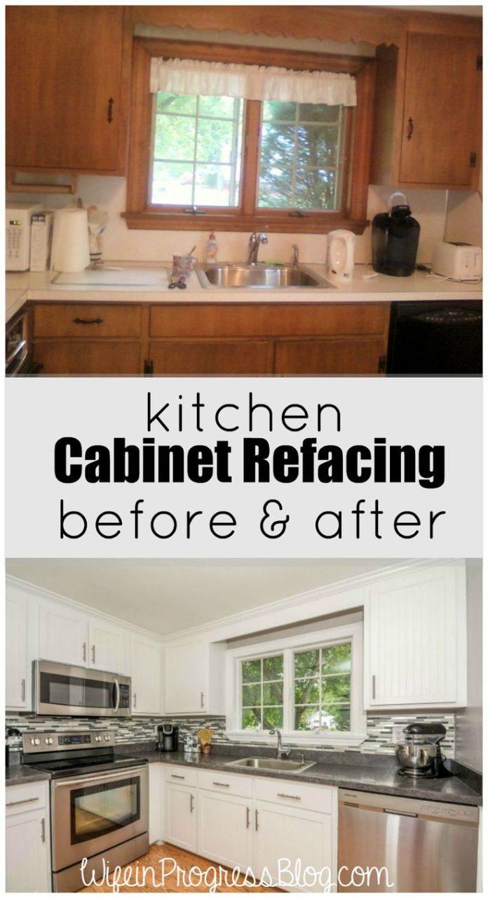 Diy Home Decor Ideas Kitchen Cabinet Refacing A Cheaper