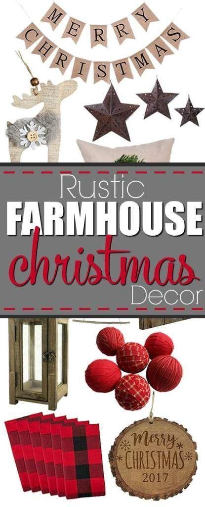 Diy Home Decor Ideas Rustic Farmhouse Christmas Decor Ideas Of