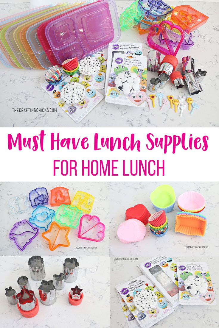 Best Ideas DIY and Crafts Inspiration : Must Have Lunch Supplies for ...