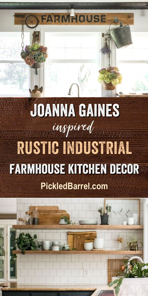 Diy Home Decor Ideas Joanna Gaines Inspired Rustic Industrial