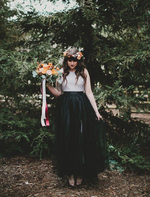 d778287521 Wedding Hairstyles Inspiration   Bridal Noir  26 Breathtaking Black ...