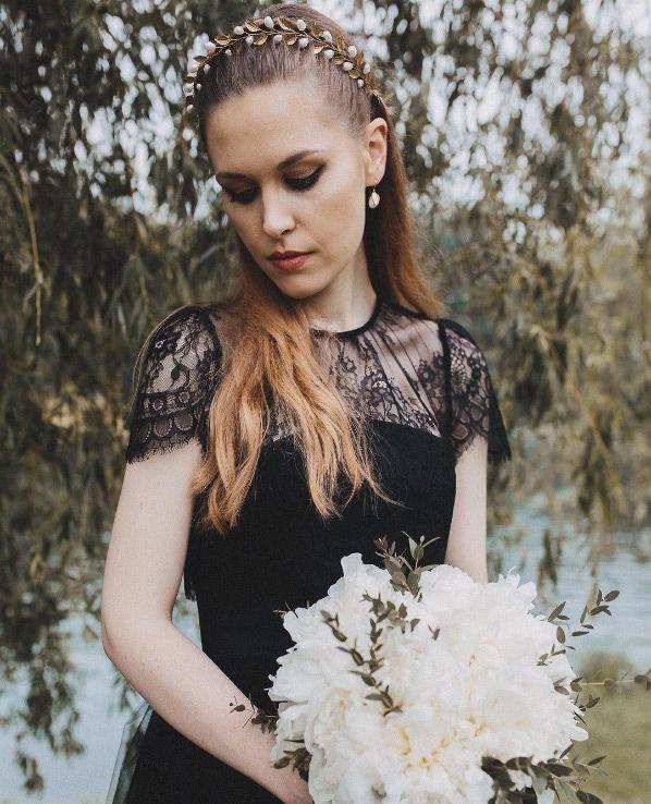 40bd9fdbd4 Wedding Dress Designers   Inspiration   Bridal Noir  26 Breathtaking ...